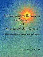 Self-Destructive Behaviors, Self-Injury and Nonsuicidal Self-Injury: A Therapists' Guide for Family Work and Support