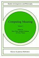 Computing Meaning Volume 2