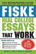 Fiske Real College Essays That Work, 2E