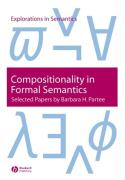 Compositionality in Formal Semantics