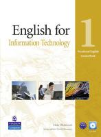 English for Information Technology. Vocational English Course Book 1