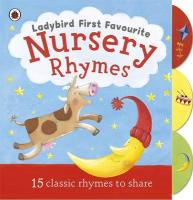 Ladybird First Favourite Nursery Rhymes. Illustrated by Cecilia Johansson