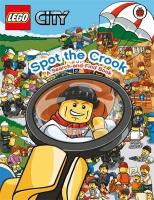 Spot the Crook: A Search and Find Book (Lego City)