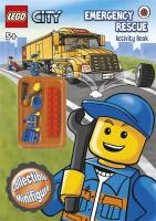 Lego City: Emergency Rescue Activity Book with Lego Minifigure (Lego City Activ Bk/Minifigure)