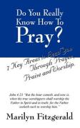 Do You Really Know How to Pray?: 7 Key Areas to Lead You Through Prayer, Praise and Worship.