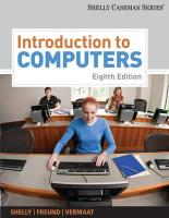 Introduction to Computers (Shelly Cashman)