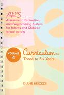 Assessment, Evaluation, and Programming System for Infants and Children (AEPS ), Second Edition, Curriculum for Three to Six Years