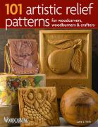 101 Artistic Relief Patterns for Woodcarvers, Woodburners & Crafters