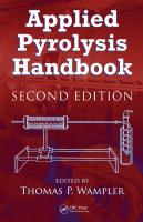 Applied Pyrolysis Handbook