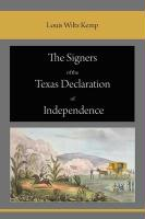The Signers of the Texas Declaration of Independence