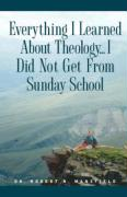Everything I Learned about Theology