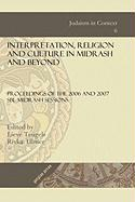 Interpretation, Religion and Culture in Midrash and Beyond