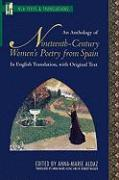 An Anthology of Nineteenth-Century Women's Poetry from Spain