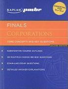 Kaplan PMBR Finals: Corporations: Core Concepts and Key Questions
