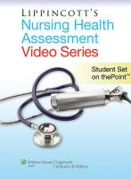 Lippincott's Health Assessment Video Series: Student CD-ROM