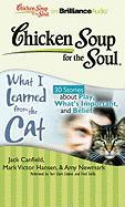 Chicken Soup for the Soul: What I Learned from the Cat: 30 Stories about Play, What's Important, and Belief