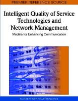 Intelligent Quality of Service Technologies and Network Management: Models for Enhancing Communication