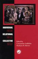 Individual Self, Relational Self, Collective Self