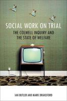 Social Work on Trial