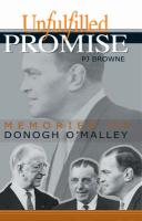 Unfulfilled Promise: Memories of Donogh O'Malley