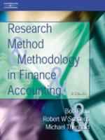 Research Methods and Methodology in Finance and Accounting