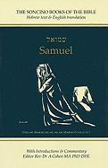 Samuel: Hebrew Text & English Translation With an Introduction and Commentary (Soncino Books of the Bible)