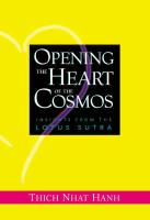 Opening the Heart of the Cosmos: Insights from the Lotus Sutra