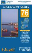 D76 Carlow, Kilkenny, Waterford, Wexford (Osi Discovery Map) (Irish Discovery Series)