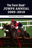 The Form Book Jumps Annual 2009-2010