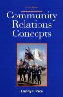 Community Relations Concepts