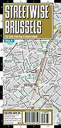 Streetwise Brussels Map - Laminated City Center Street Map of Brussels, Belgium (Streetwise (Streetwise Maps))