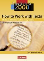 How to Work with Texts: Skills and Glossary of Literary Terms