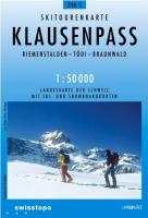 Klausenpass Skirouten 1:50'000: AND Lach