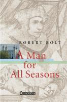 Cornelsen Senior English Library - Fiction: Ab 11. Schuljahr - A Man for All Seasons: Textband mit Annotationen