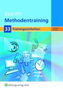Betrifft Methodentraining