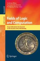 Fields of Logic and Computation