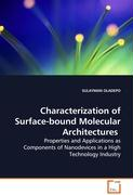 Characterization of Surface-bound MolecularArchitectures