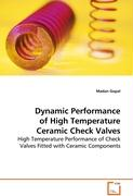 Dynamic Performance of High Temperature Ceramic CheckValves