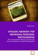 EPISODIC MEMORY FOR BROWSING PERSONAL PHOTOGRAPHS