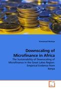 Downscaling of Microfinance in Africa
