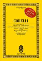 Concerto Grosso Op.6/8 Study Score