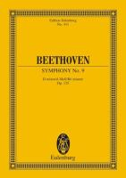 "Symphony No. 9 in D minor, Op. 125 ""Choral"": Edition Eulenburg No. 411"