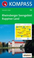 Rheinsberger Seengebiet. Ruppiner Land 1 : 50 000