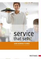 Service that sells!