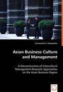 Asian Business Culture and Management