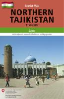 Northern Tajikistan 1 : 500 000: Tourist Map of Sughd with adjacent areas of Uzbekistan and Kyrgyzstan