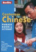 Chinese Cantonese Berlitz Phrase Book and Dictionary
