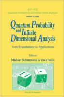 Quantum Probability and Infinite Dimensional Analysis: From Foundations to Appllications