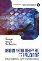 Random Matrix Theory and Its Applications: Multivariate Statistics and Wireless Communications