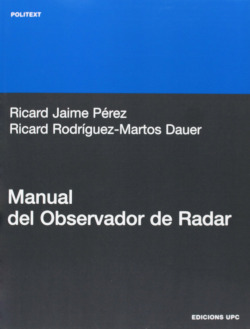 Manual del observador de Radar - Jaime P